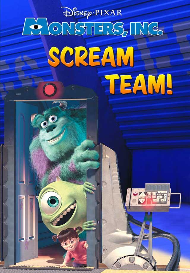 Monsters inc scream team