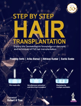 หน้าปก-step-by-step-hair-transplantation-expand-the-dermatologists-knowledge-on-concepts-and-techniques-of-fue-hair-transplantation-ookbee