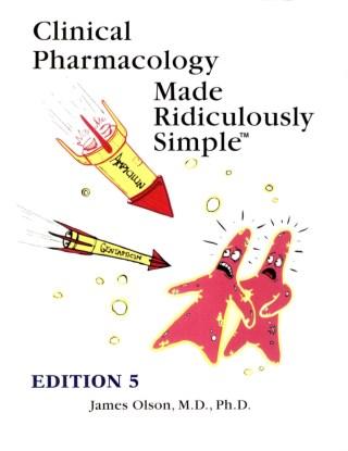 หน้าปก-clinical-pharmacology-made-ridiculously-simple-5ed-ookbee