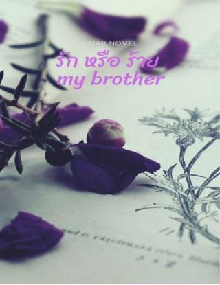 รัก-หรือ-ร้าย-my-brother-หน้าปก-ookbee