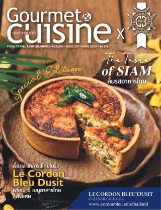 gourmetcuisine-ฉบับพิเศษ-x-le-cordon-bleu-dusit-หน้าปก-ookbee