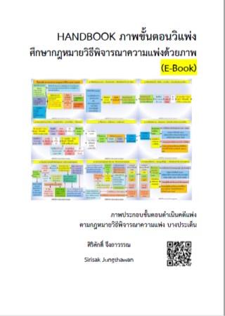 หน้าปก-handbook-ภาพขั้นตอนวิแพ่ง-ศึกษากฎหมายวิธีพิจารณาความแพ่งด้วยภาพ-e-book-ookbee