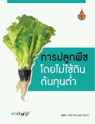 การปลูกพืชโดยไม่ใช้ดิน-ต้นทุนต่ำ-หน้าปก-ookbee