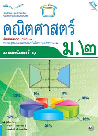 หน้าปก-หนังสือเรียนคณิตศาสตร์พื้นฐาน-ม2-เทอม-1-ookbee