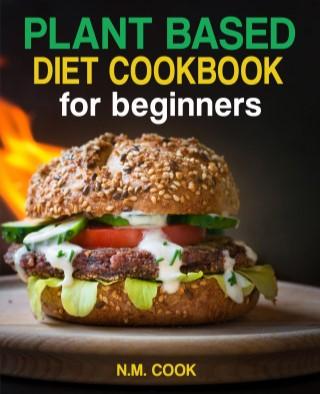 หน้าปก-plant-based-diet-cookbook-for-beginners-book-1-ookbee