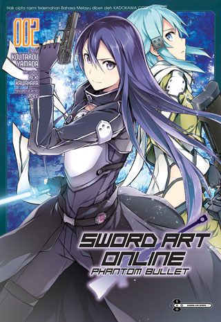 Sword-Art-Online:-Phantom-Bullet-02-(Malay)-หน้าปก-ookbee