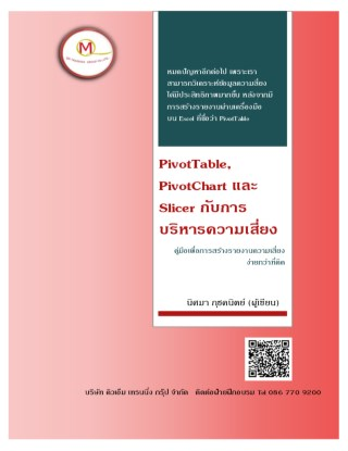 PivotTable-And-Slicer-for-Risk-Management--หน้าปก-ookbee
