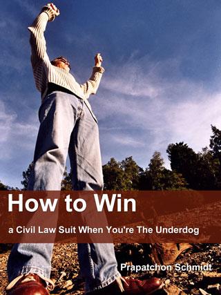 หน้าปก-how-to-win-a-civil-law-suit-when-youre-the-underdog-ookbee