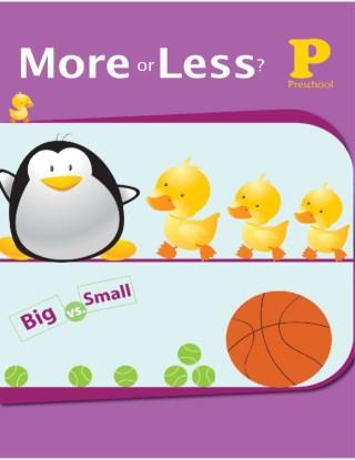 หน้าปก-more-or-less-ช่วยให้เด็กๆมีความรู้ความเข้าใจในเรื่องมากขึ้นน้อยลงและเท่ากัน-ookbee