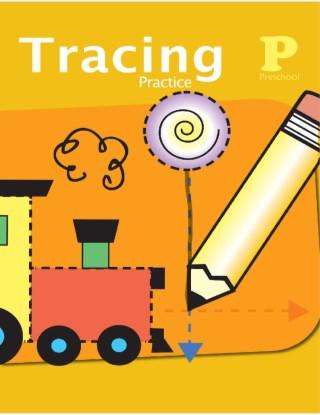 หน้าปก-tracing-practice-for-preschool-แบบฝึกหัดสำหรับเด็กก่อนวัยเรียน-ookbee