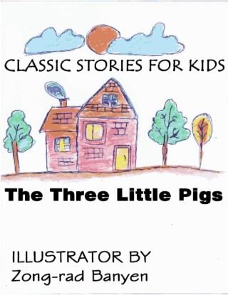 หน้าปก-the-three-little-pigs-picture-story-ookbee