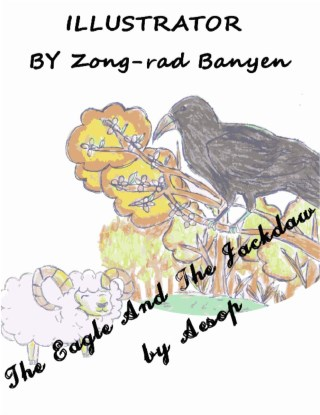หน้าปก-the-eagle-and-the-jackdaw-by-aesop-ookbee