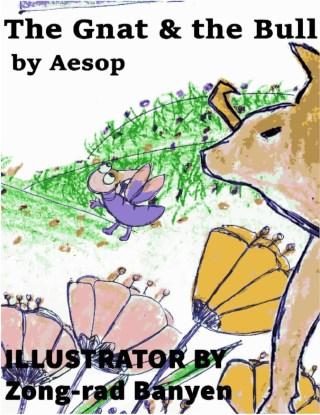 หน้าปก-the-gnat-the-bull-by-aesop-ookbee