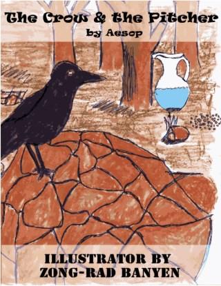 หน้าปก-the-crow-the-pitcher-by-aesop-ookbee