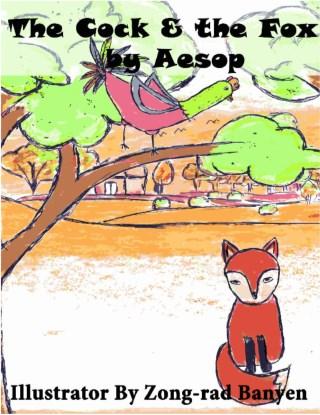 หน้าปก-the-cock-the-fox-by-aesop-ookbee