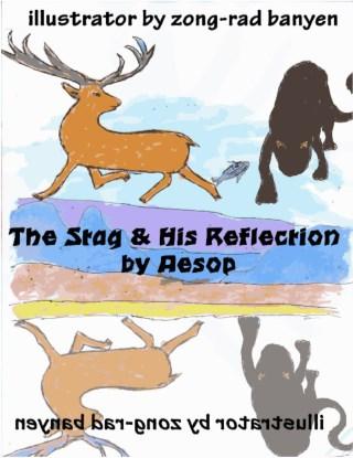 หน้าปก-the-stag-his-reflection-by-aesop-ookbee