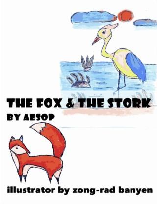 หน้าปก-the-fox-the-stork-by-aesop-ookbee