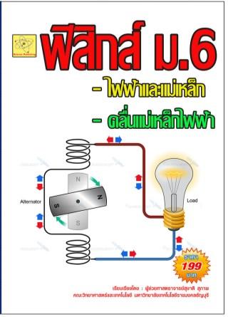 หน้าปก-ฟิสิกส์-ม6-เรื่องแม่เหล็ก-ไฟฟ้า-และคลื่นแม่เหล็กไฟฟ้า-ookbee