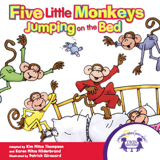 five-little-monkeys-jumping-on-the-bed-หน้าปก-ookbee