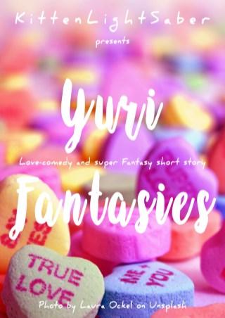 yuri-fantasies-เรื่องสั้นแสนวุ่นวายของสาวน้อยสายยูริ-หน้าปก-ookbee