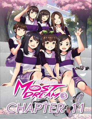 bnk48-comic-most-dream-เล่ม-3-chapter-11-หน้าปก-ookbee